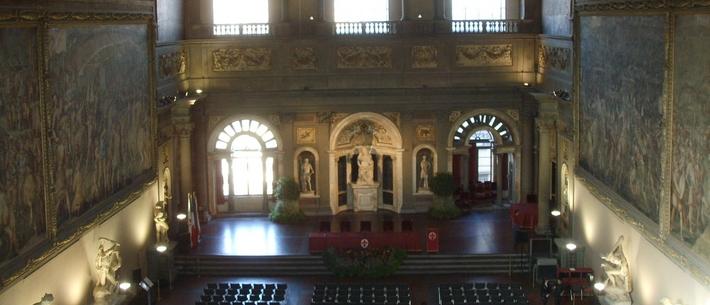 Salone dei cinquecento, Palazzo Vecchio - Firenze